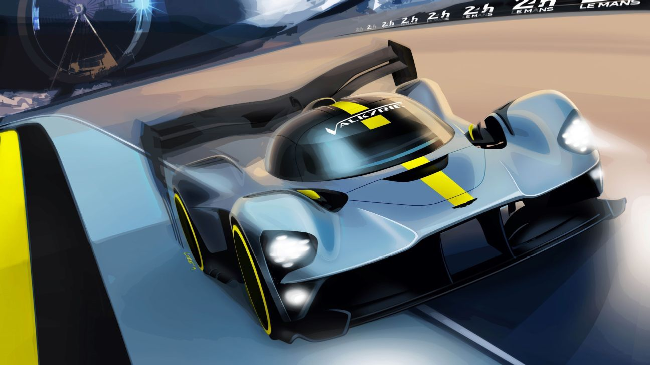 Aston Martin Valkyrie to race at Le Mans in 2021