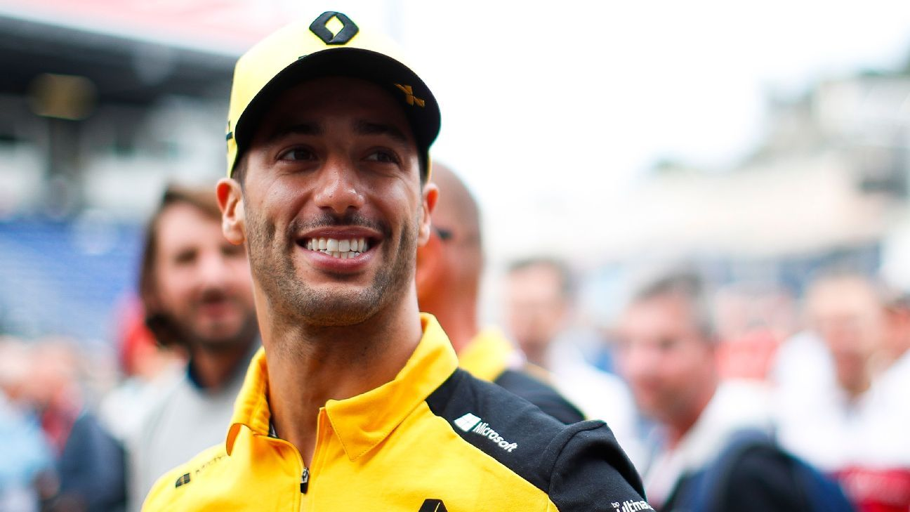 Ricciardo says recent form has 'ignited a pretty nice fire'
