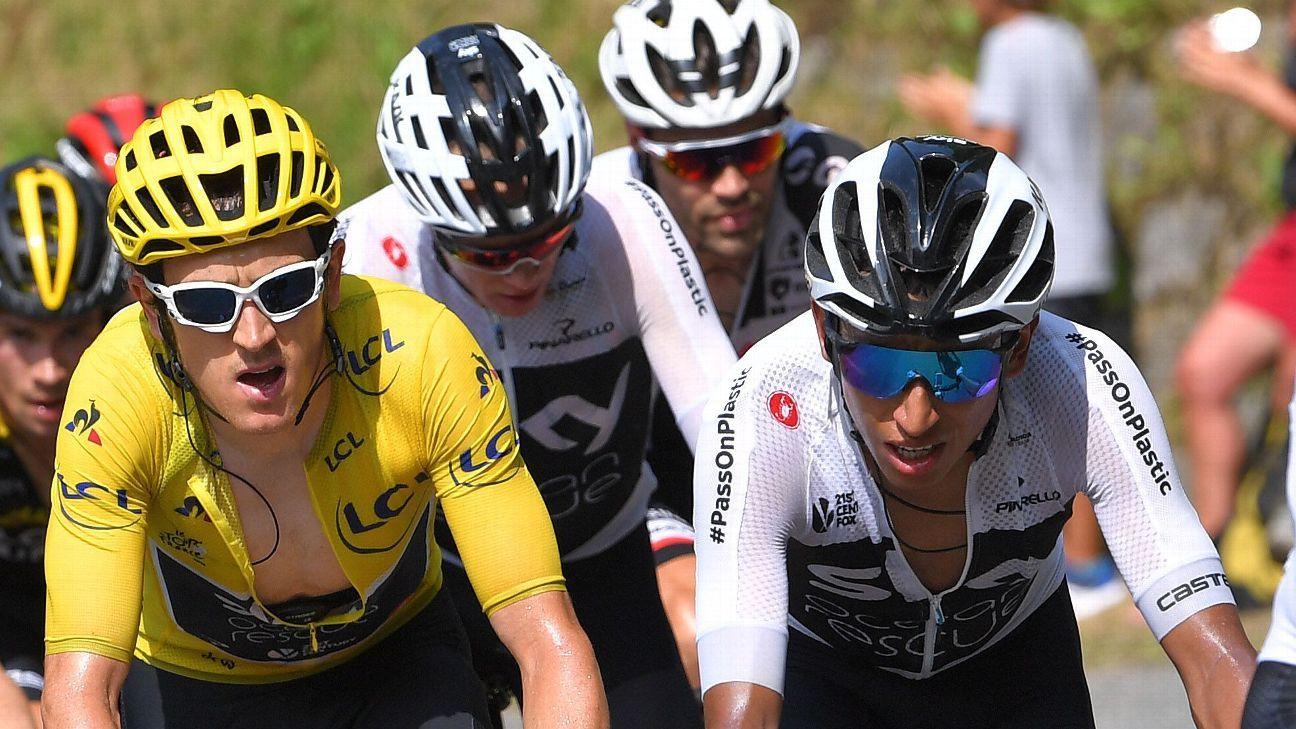 Thomas, Bernal joint leaders of Team INEOS at Tour de France