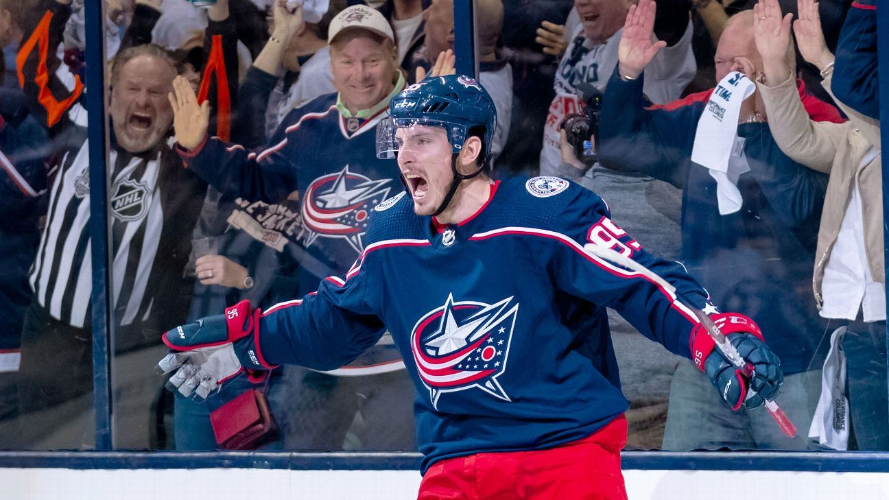 Stanley Cup Playoffs Daily: Blue Jackets, Sharks take the lead