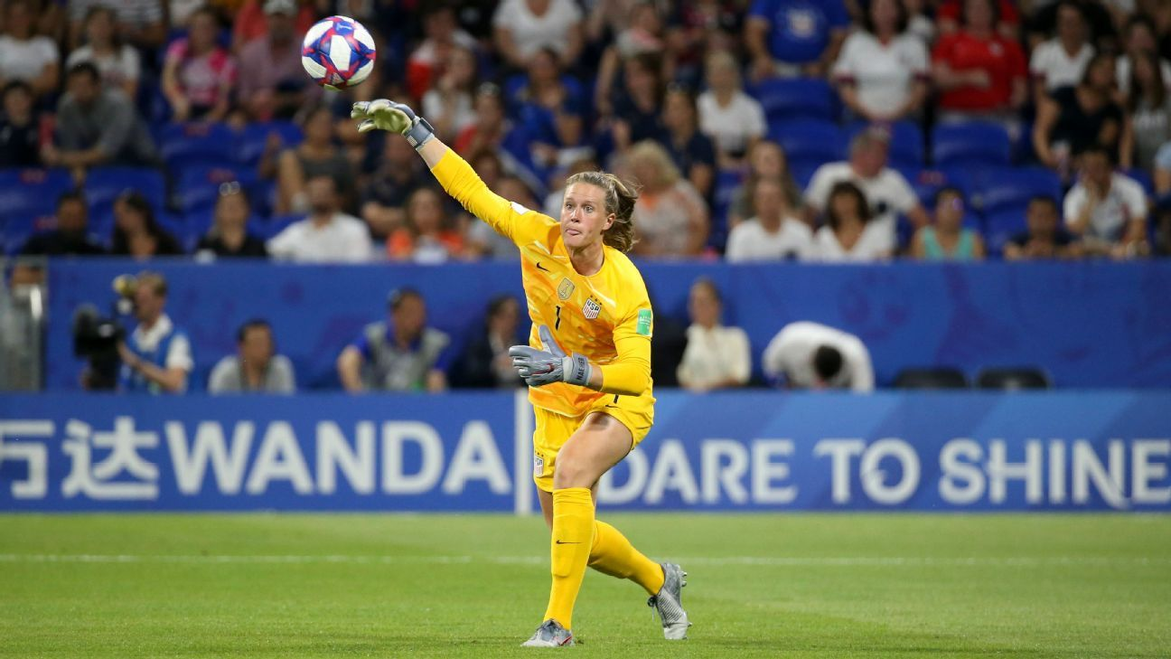 Save the day and move on: That's Alyssa Naeher in a nutshell