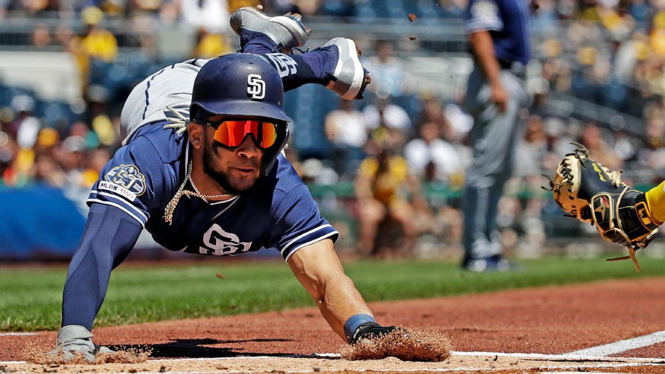 ROY candidate Tatis likely done for season (back)