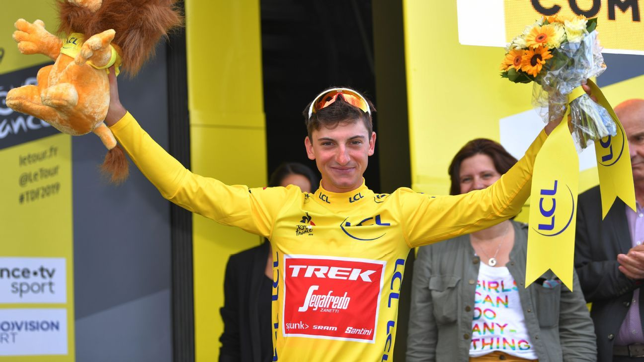 Tour de France: Ciccone turns blue into yellow on tour debut