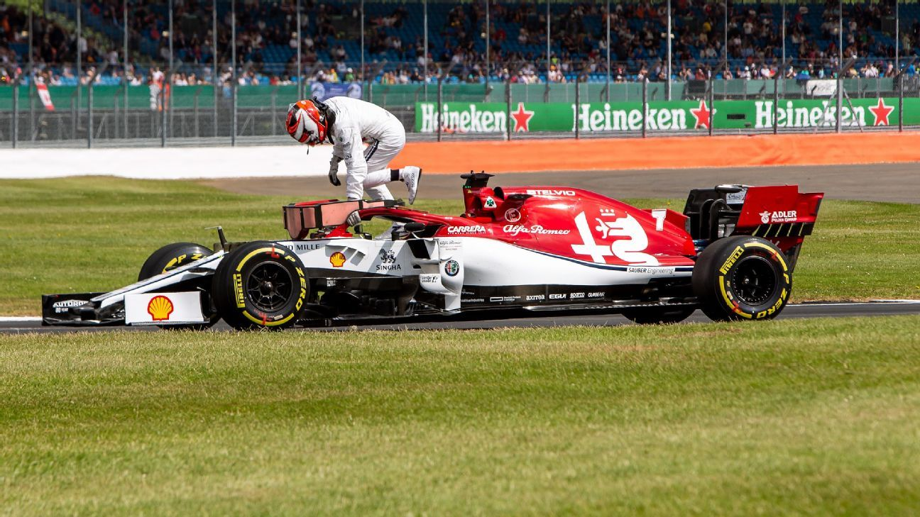 British Grand Prix diary: Is this peak Kimi Raikkonen?