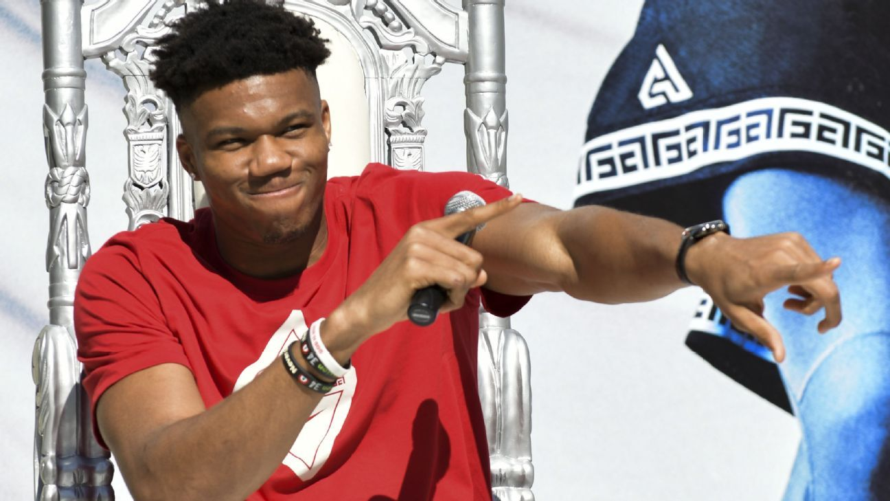 Giannis pledges to extend reign at Milwaukee fete