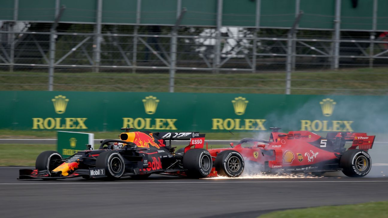 The British Grand Prix was bonkers -- and it could have been even better