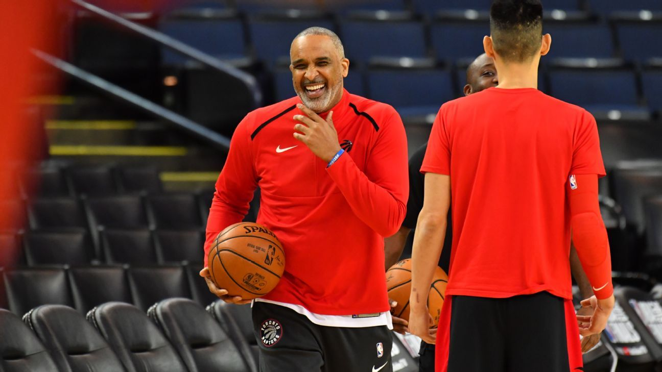 Source: Lakers to hire Raptors assistant Handy