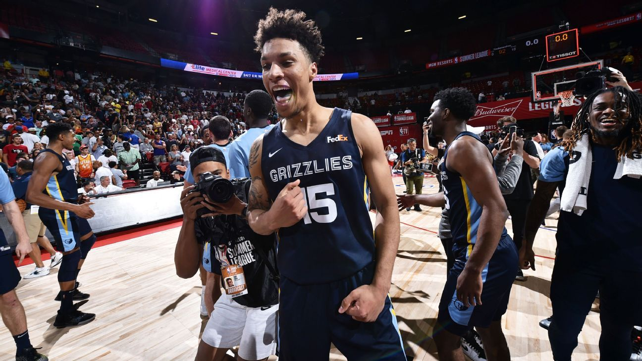 Clarke stakes Grizzlies to summer league crown – ESPN