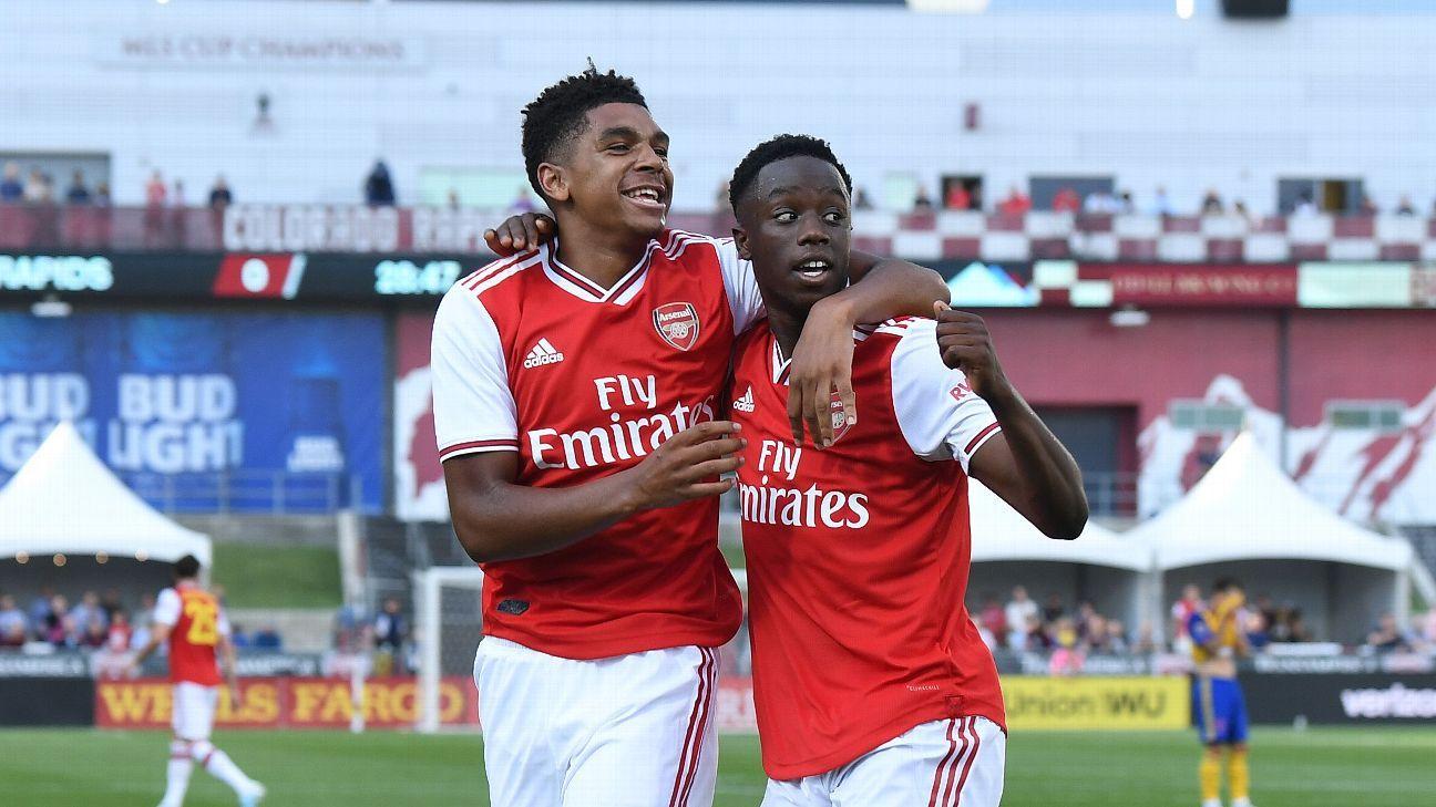 Arsenal open preseason with win over Colorado