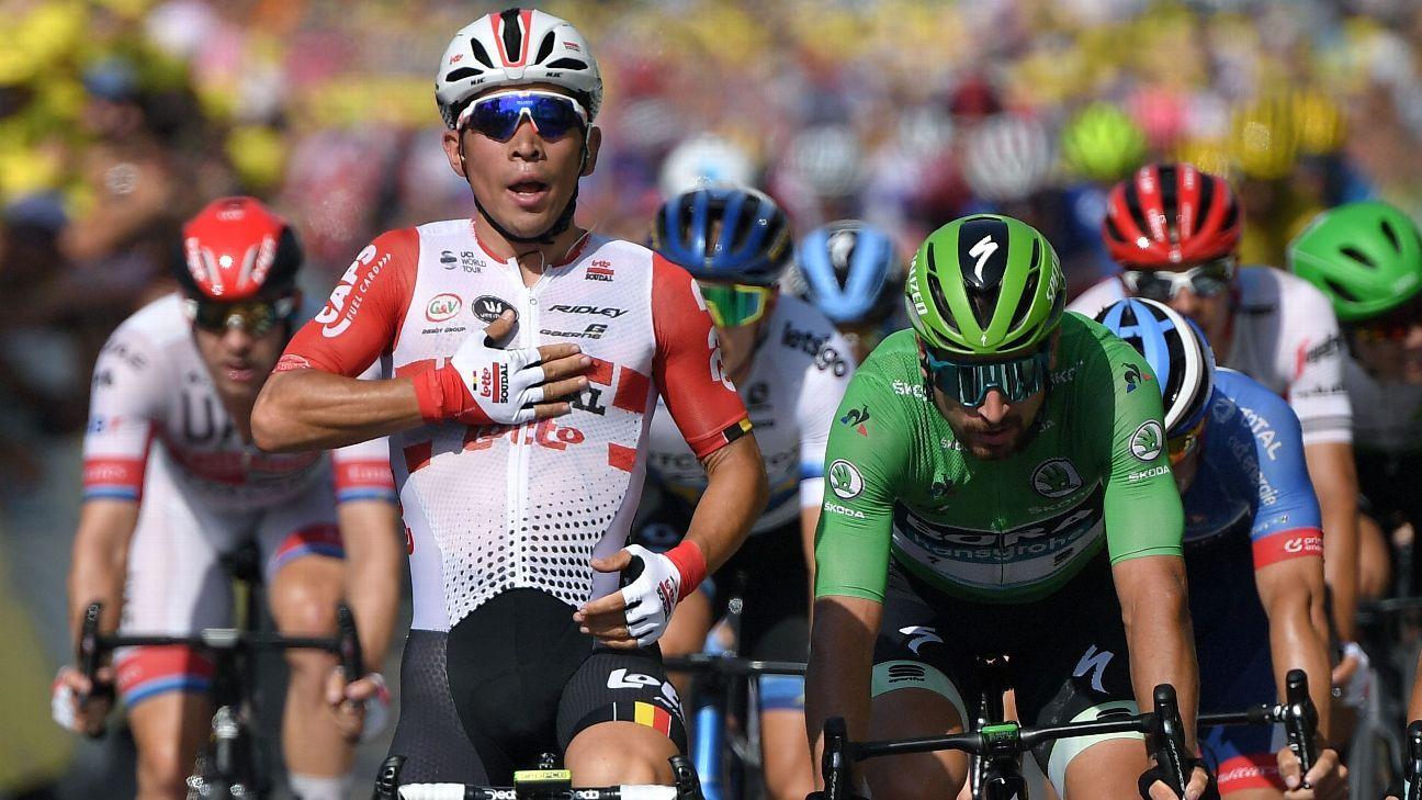 Tour de France: Ewan wins Stage 16, Thomas suffers minor crash