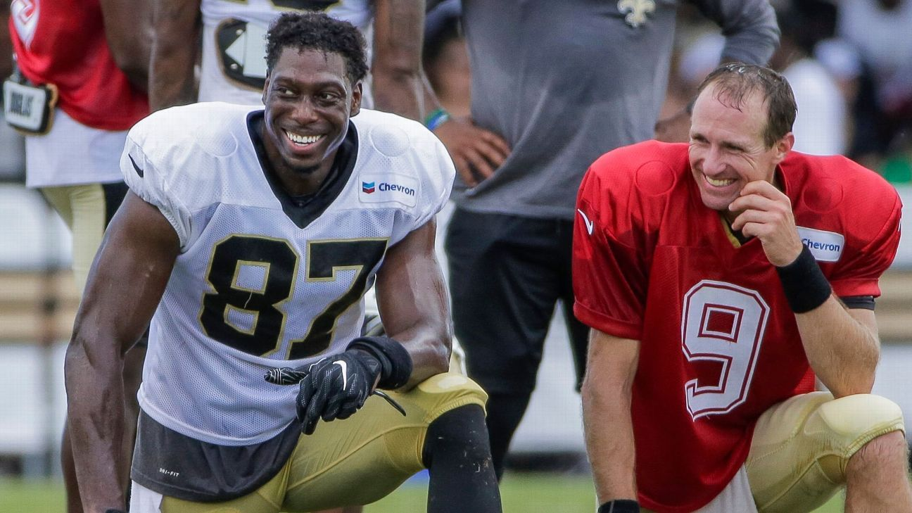 'Pretty easy to see' how well TE Jared Cook is jelling with Saints