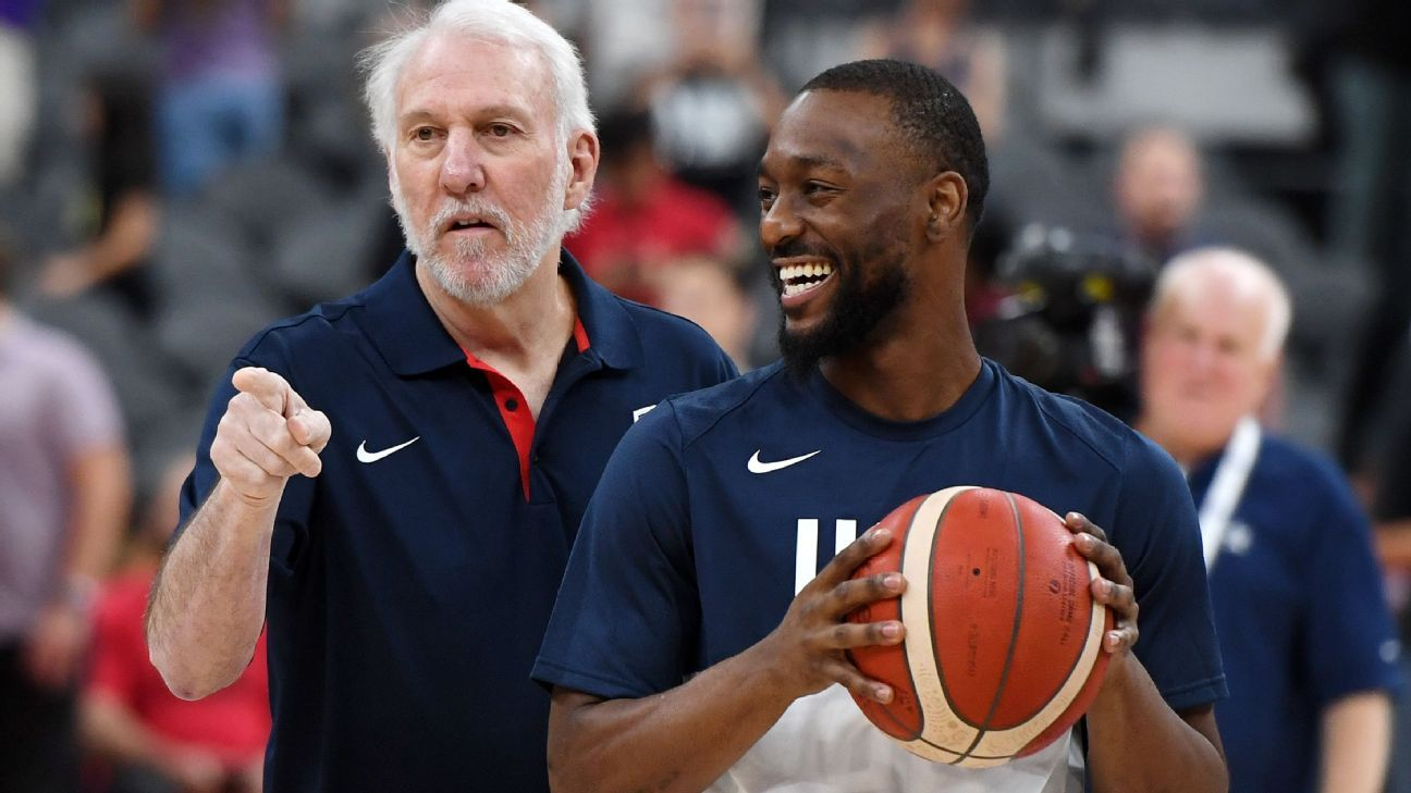 Walker lifts Team USA past Aussies in warm-up