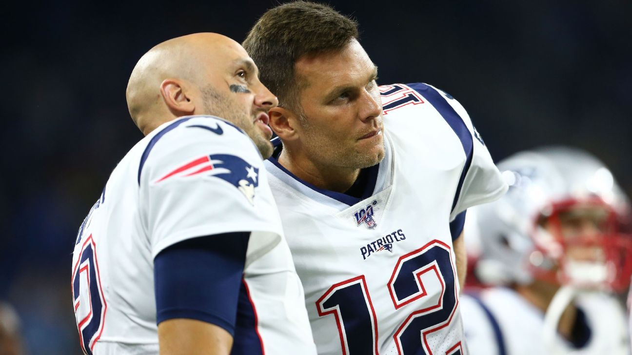 Patriots' plans behind Tom Brady among roster questions ahead