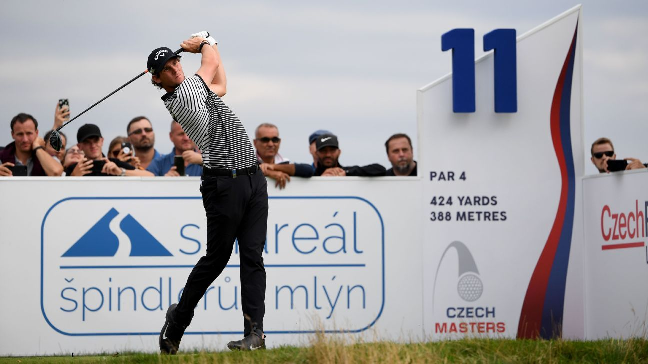 Pieters takes one-shot lead at Czech Masters