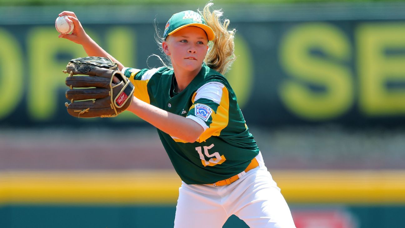 Maddy Freking making her mark as only girl at Little League World Series