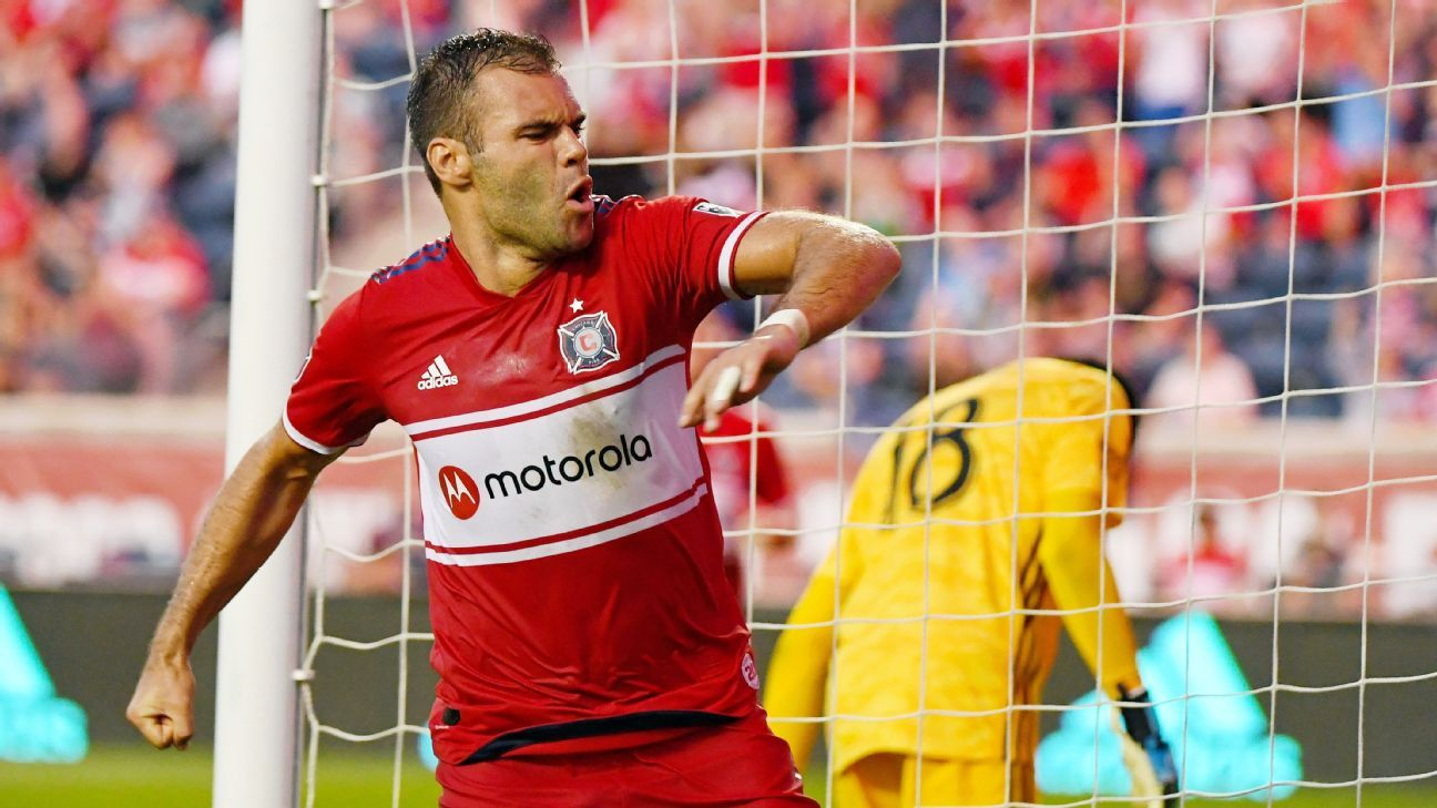 Chicago Fire DP Nemanja Nikolic Announces He S Leaving Team