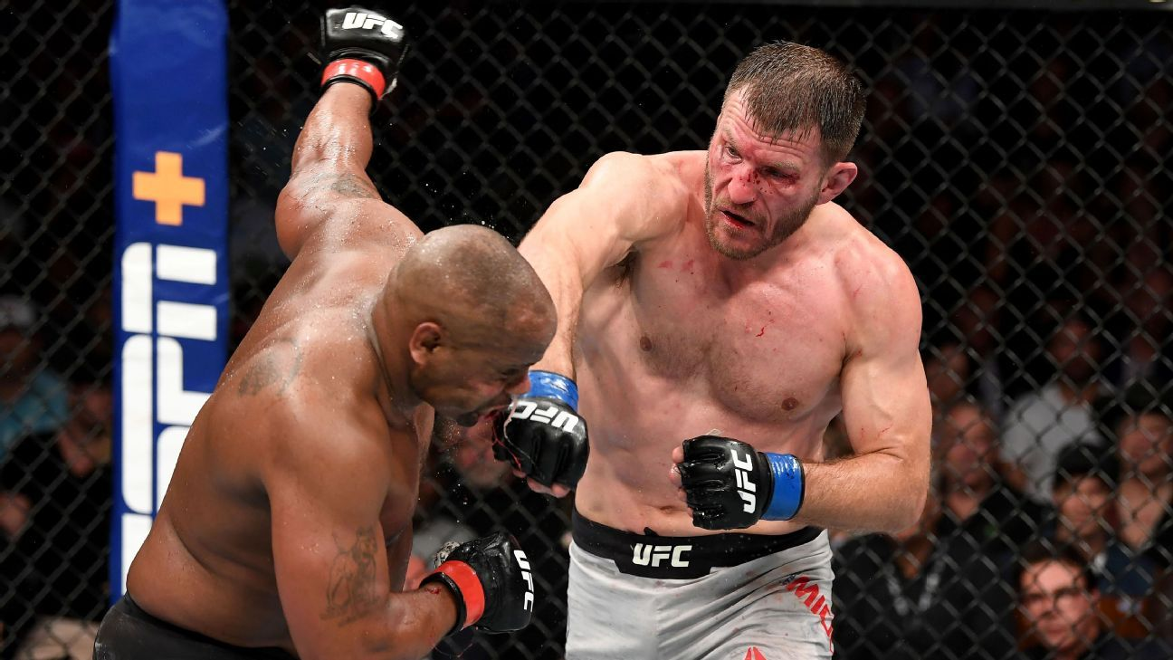 19 MMA thoughts, including how Miocic's persistence paid off in gold