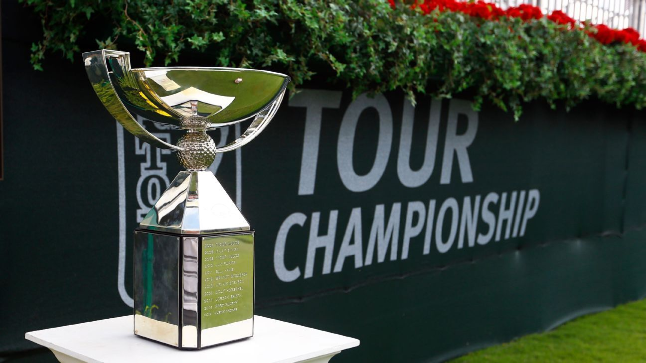 Eyes on the $15 million mega-prize: Tour Championship field, standings, faves, odds