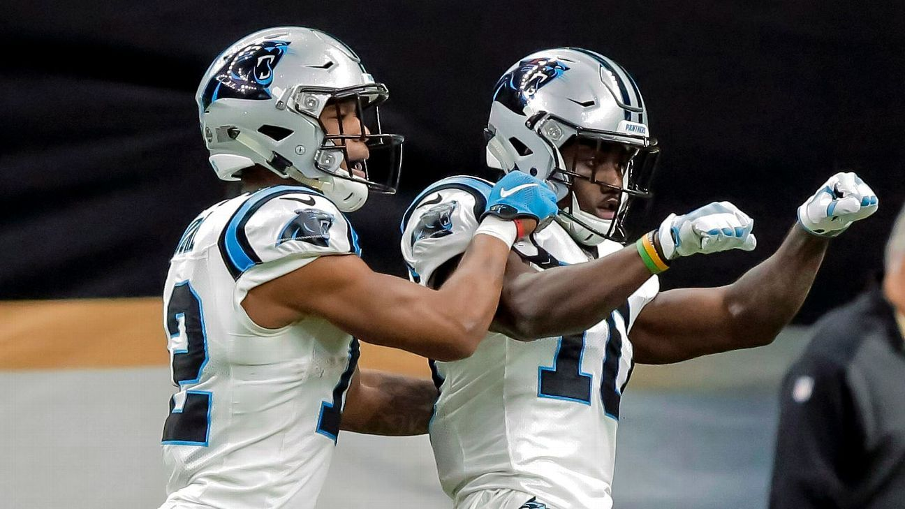 Fantasy fallout: Can Panthers WRs Curtis Samuel, DJ Moore break out?