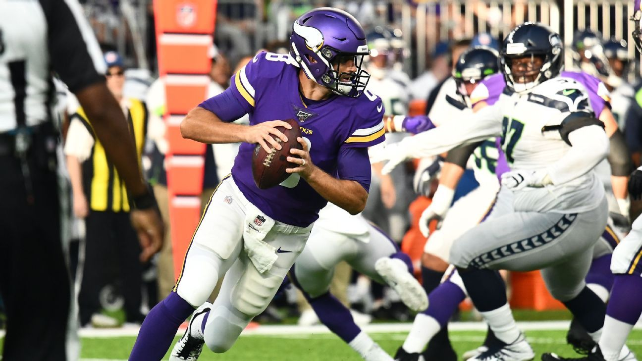 Right off-schedule: Why Vikings want to see Kirk Cousins run more