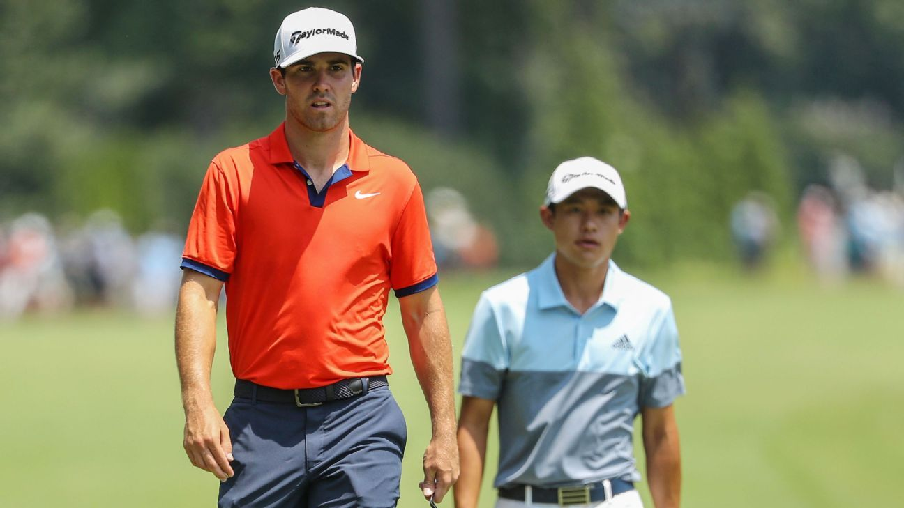 Next on the tee: The top 25 golfers under age 25