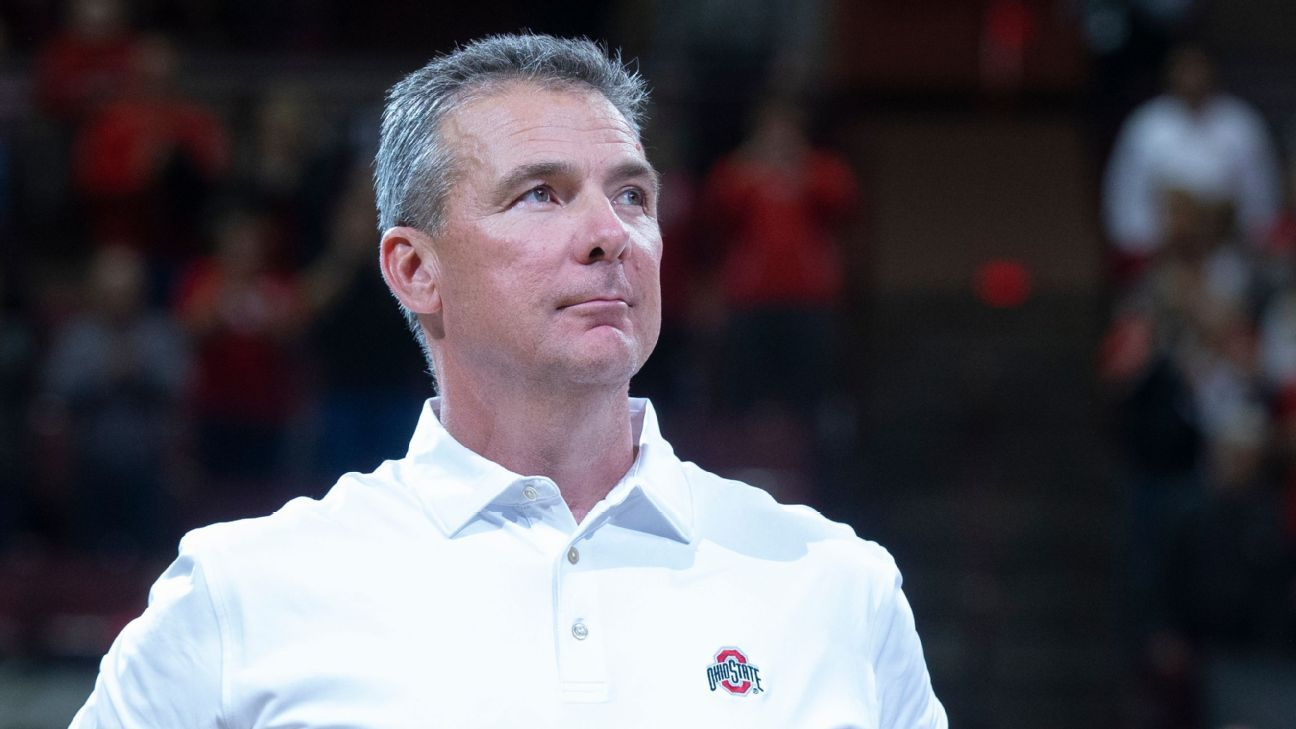Jacksonville Jaguars Urban Meyer in advanced talks about coaching opening sources say – ESPN