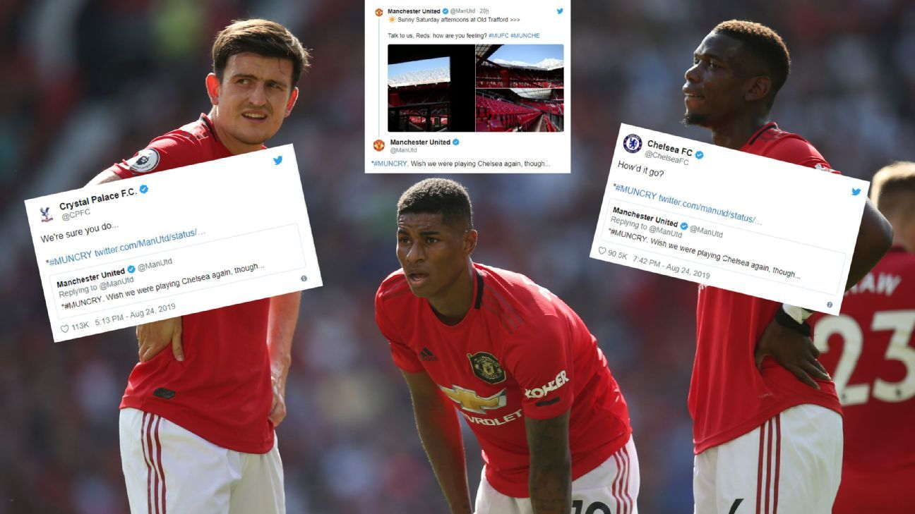 Toe Poke Daily: Man United lose Twitter as well as the game vs. Palace