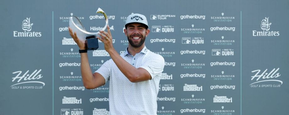 Van Rooyen claims Scandinavian Invitation title