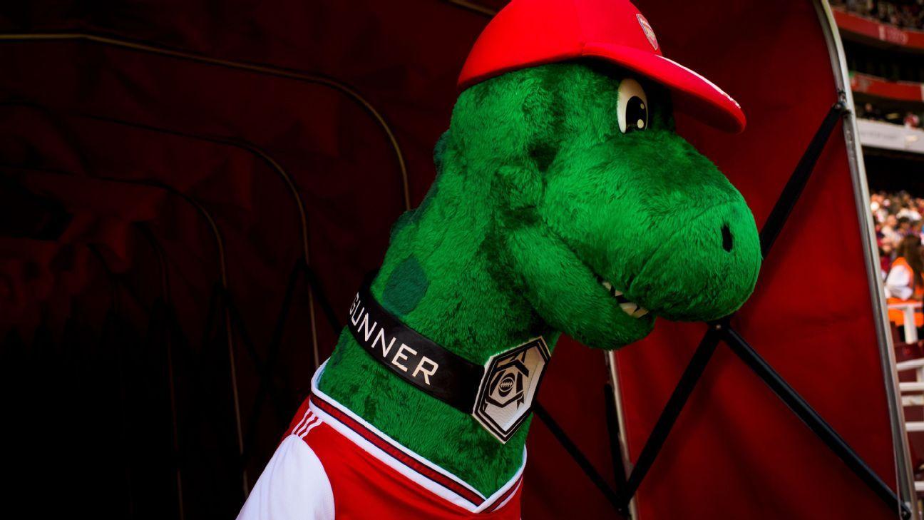 Gunnersaurus: the untold story of Arsenal's mascot