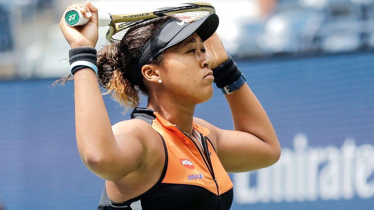 'Nervous' Osaka struggles, survives 3-set test