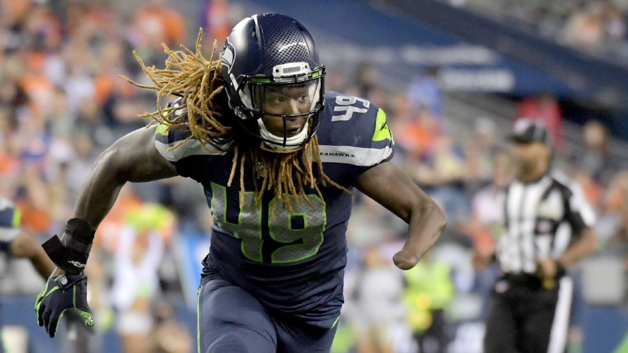 Dolphins reach deal with ex-Seahawks LB Griffin thumbnail