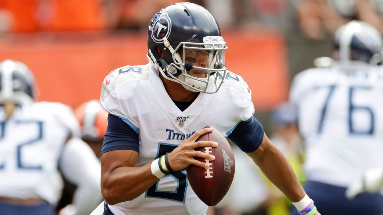Marcus Mariota: Demotion doesn't mean career is over