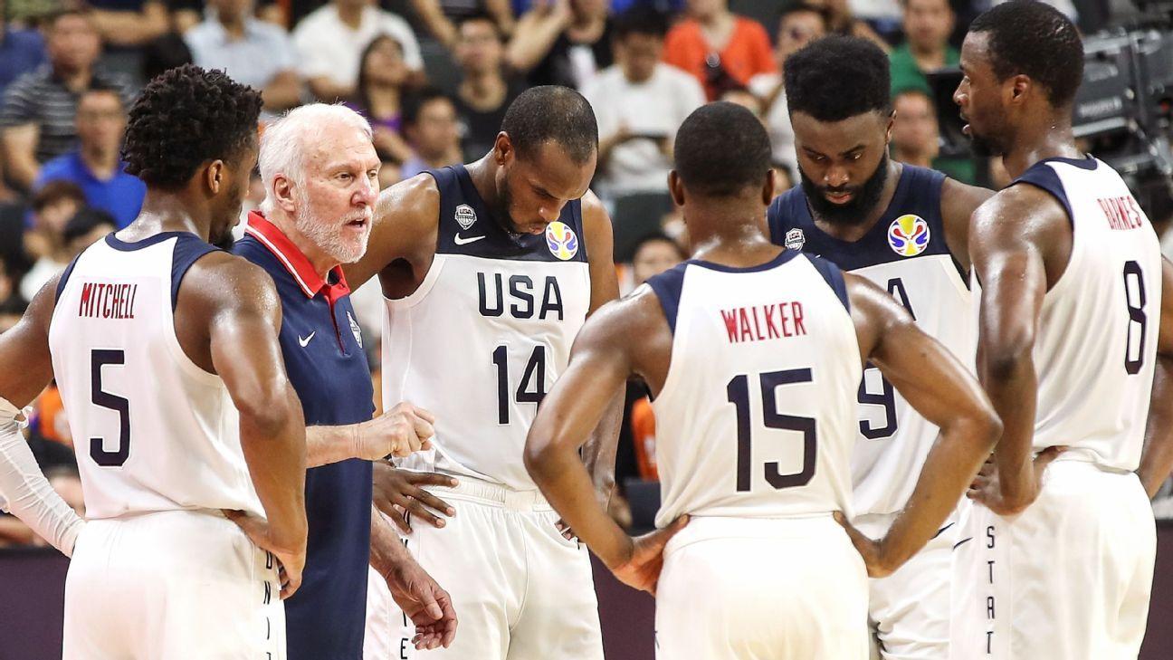 U.S. keeps No. 1 spot in FIBA rankings after loss