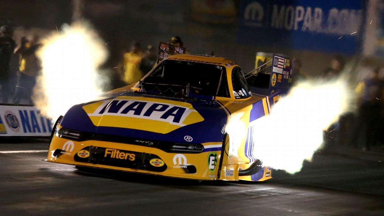 Capps breaks Maple Grove Funny Car records