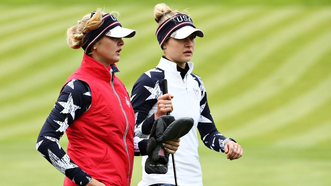 Korda sisters deliver, Europe retain lead in Solheim Cup