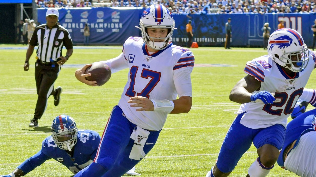 Bills strike fast, hit cruise control in win over Giants to start 2-0