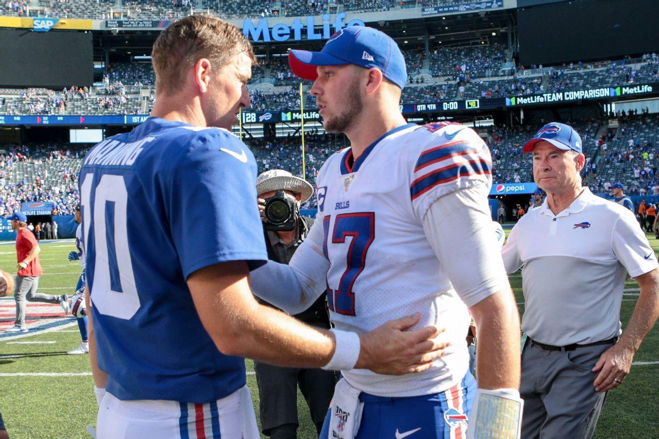 Bills' Allen after beating Jets, Giants: 1 NY team