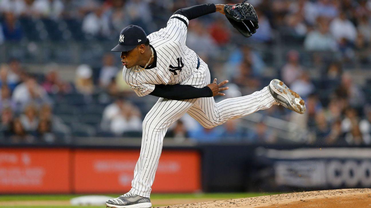 Severino's sizzling return shakes up Yankees' postseason picture