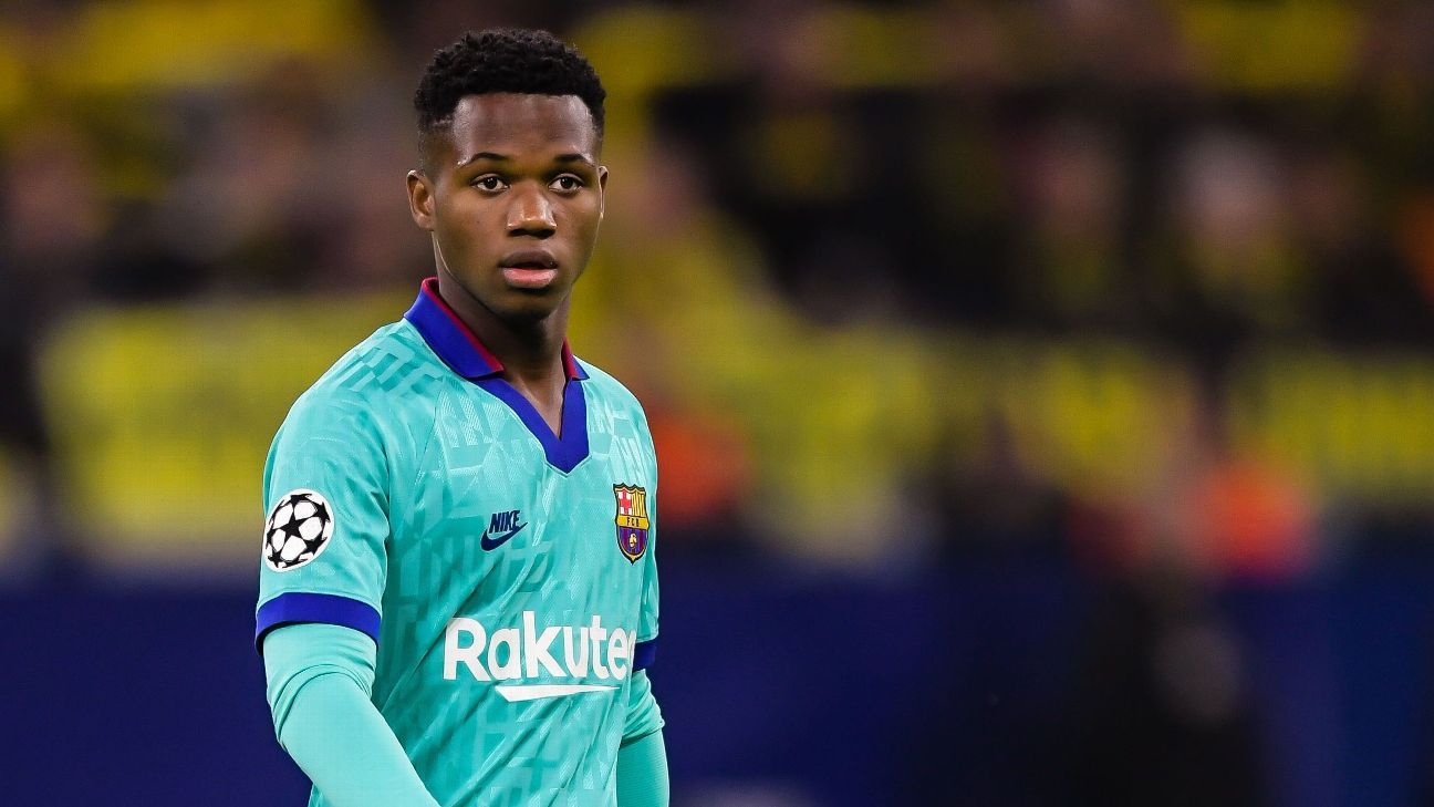 Image Source: No chance Fati leaves Barca despite crisis