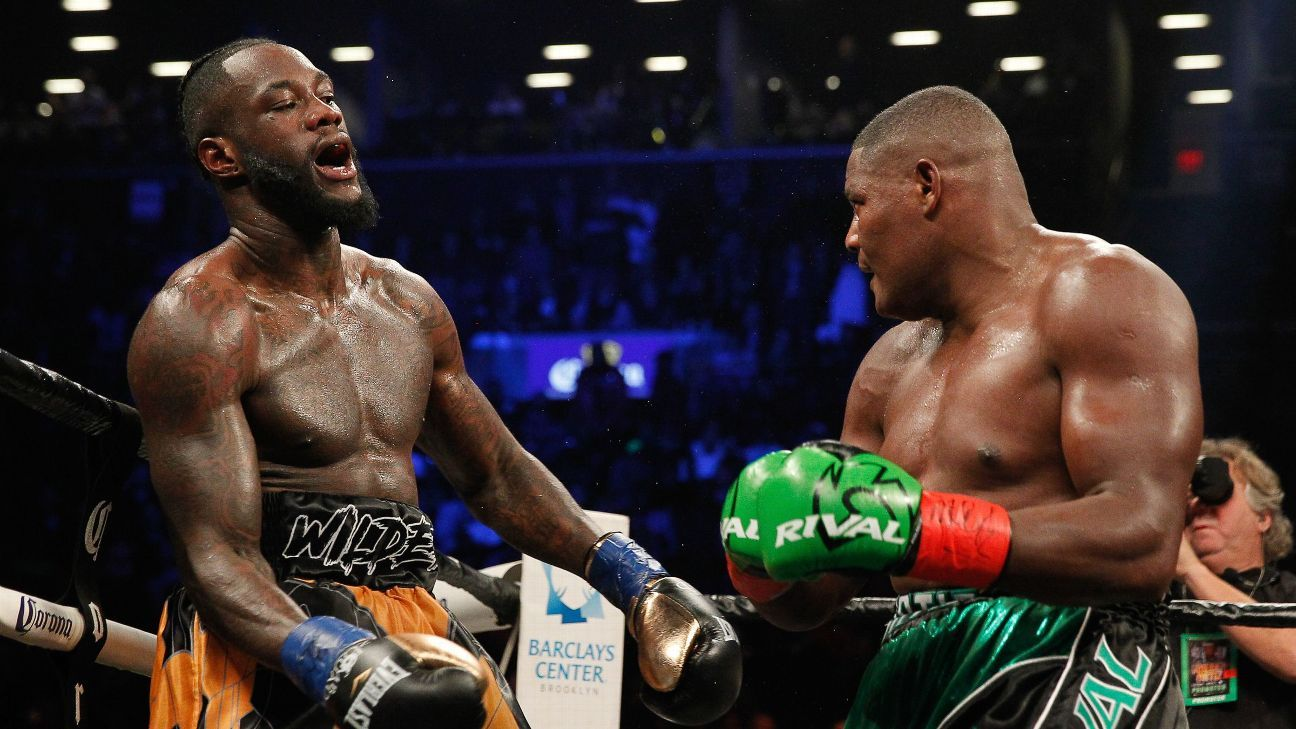 Inside the round that saw Ortiz nearly stop Wilder and rock the heavyweight division
