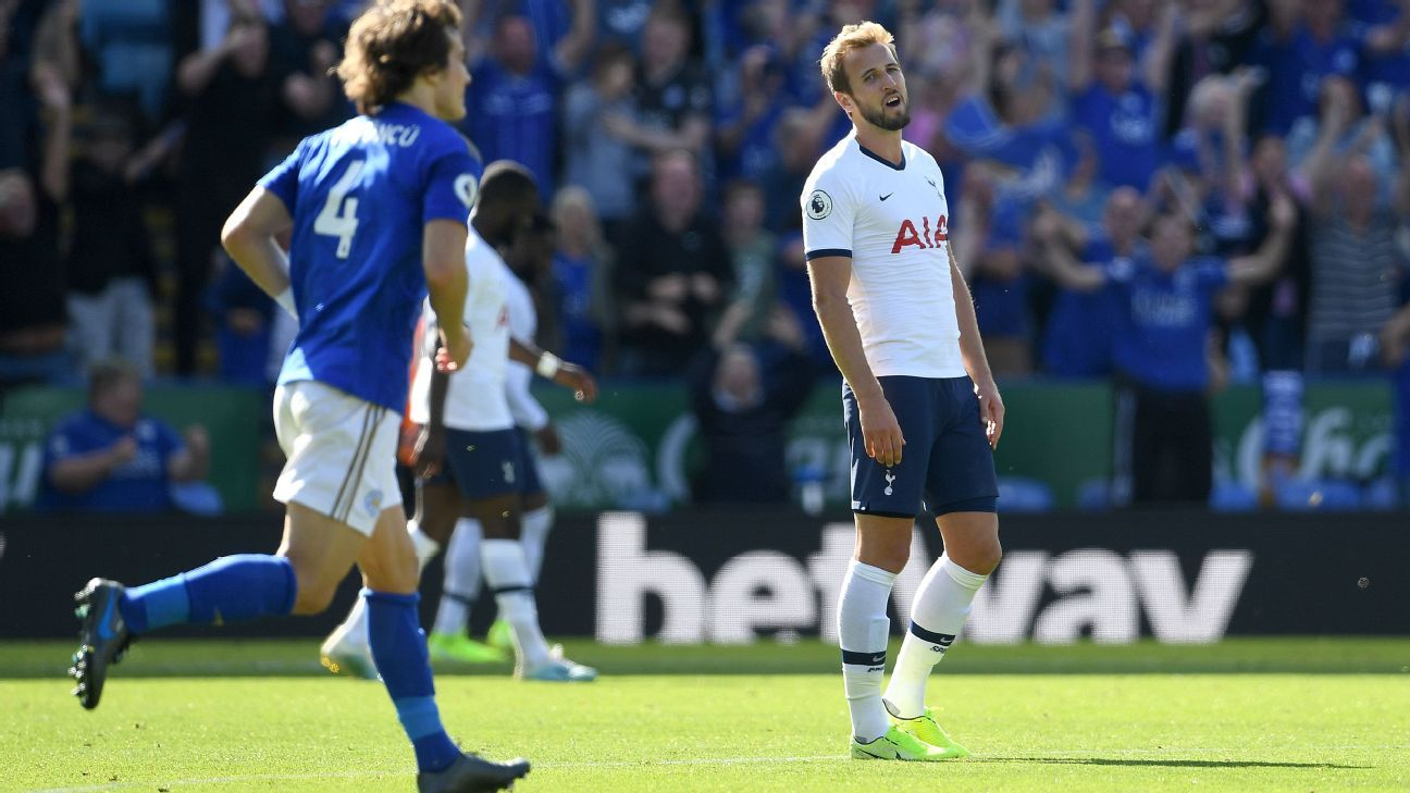 Harry Kane's wonder goal, 7/10 performance not enough for Spurs at Leicester