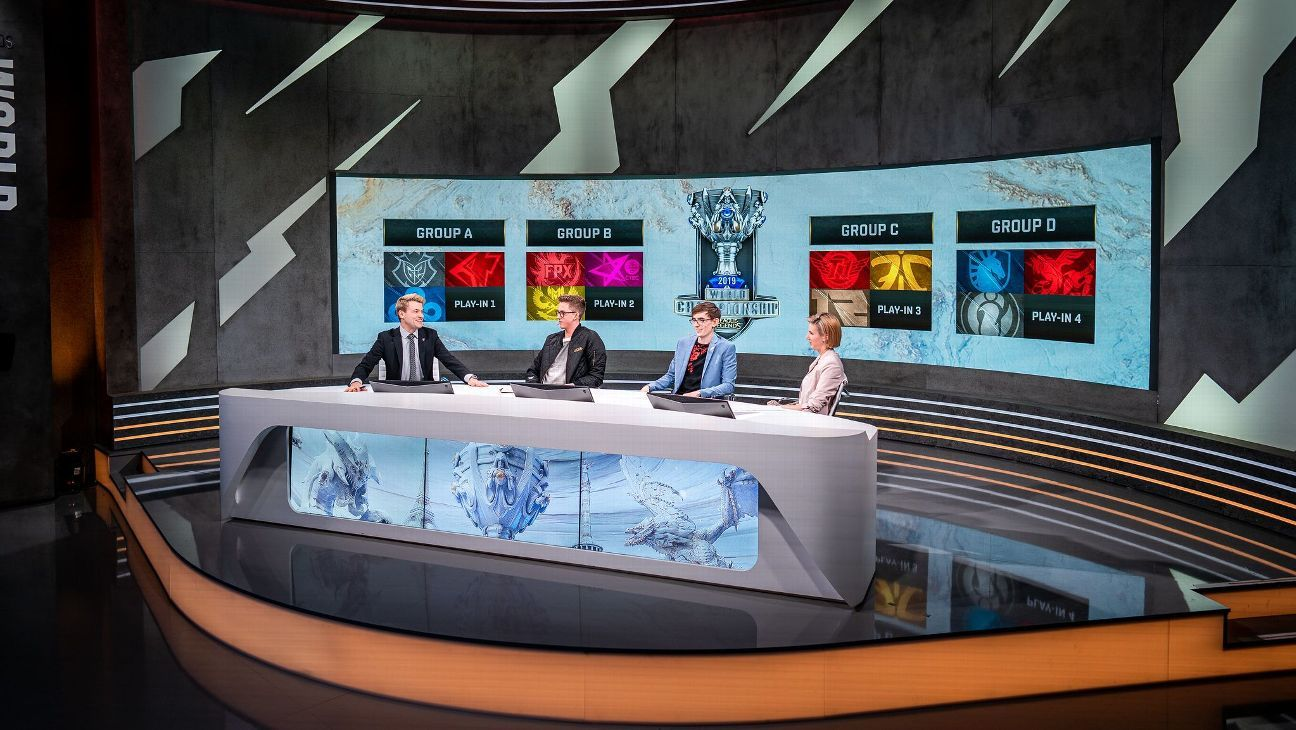 Winners and losers of the League of Legends World Championship group draw