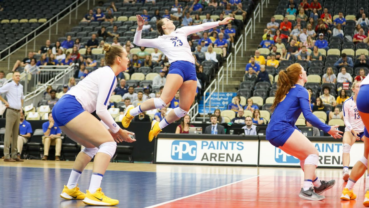 Pittsburgh riding hot start, historic split vs. Penn State to No. 4 in NCAA volleyball rankings