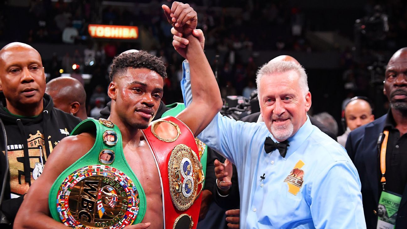 Errol Spence Jr. charged with DWI stemming from crash