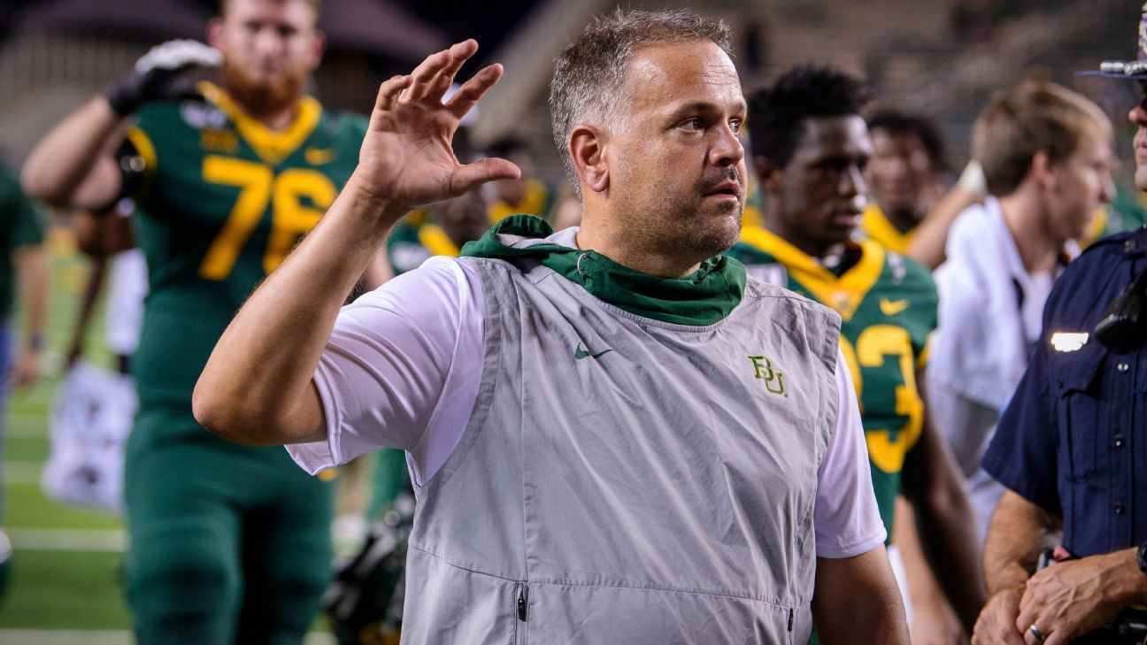 Baylor extends coach Rhule through 2027 season