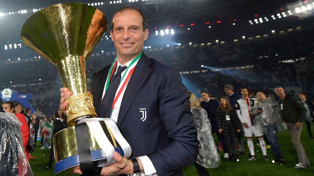 Ex-Juventus boss Max Allegri: I won't take new job until summer
