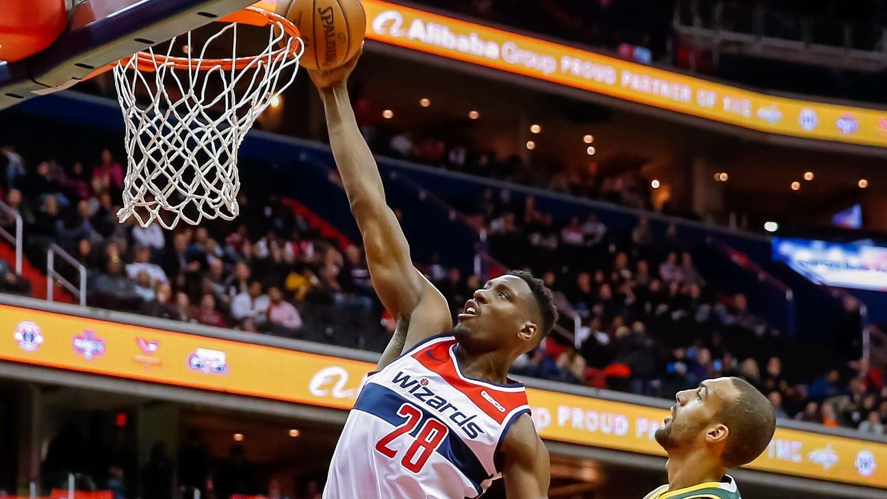 Wizards center Ian Mahinmi to miss time with Achilles strain