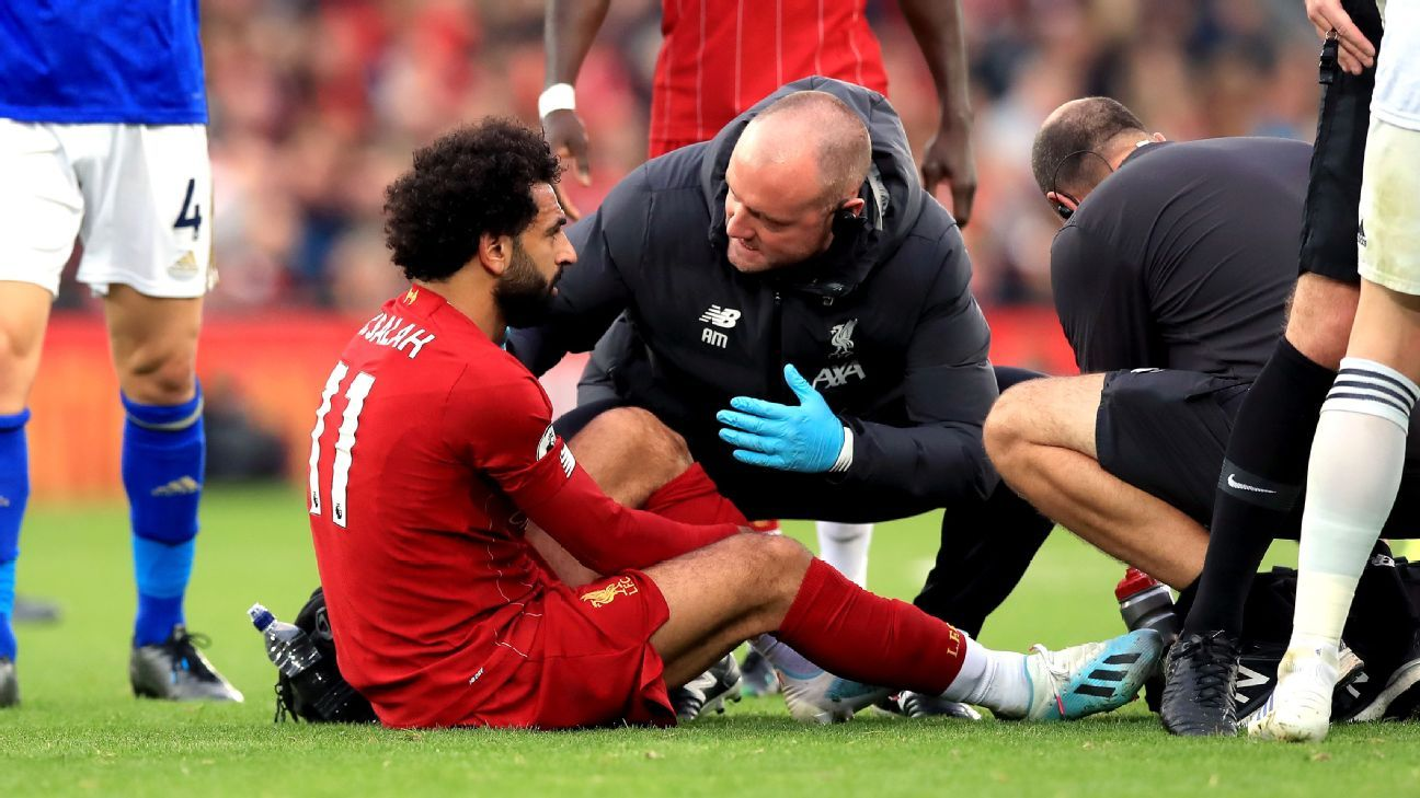 Liverpool's Mohamed Salah avoids serious injury after Hamza Choudhury tackle