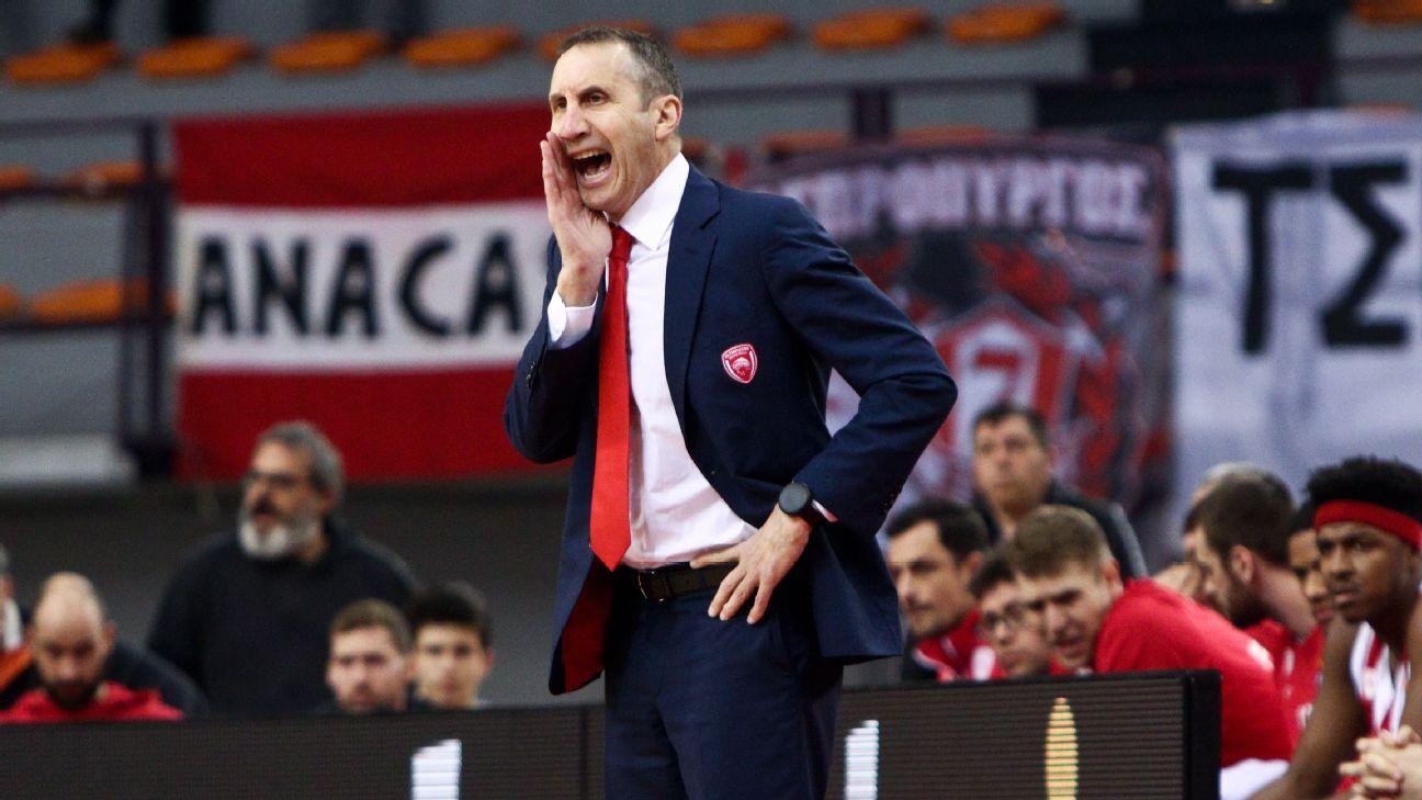 Former Cavaliers coach David Blatt resigns as coach of Greek team Olympiakos after MS diagnosis