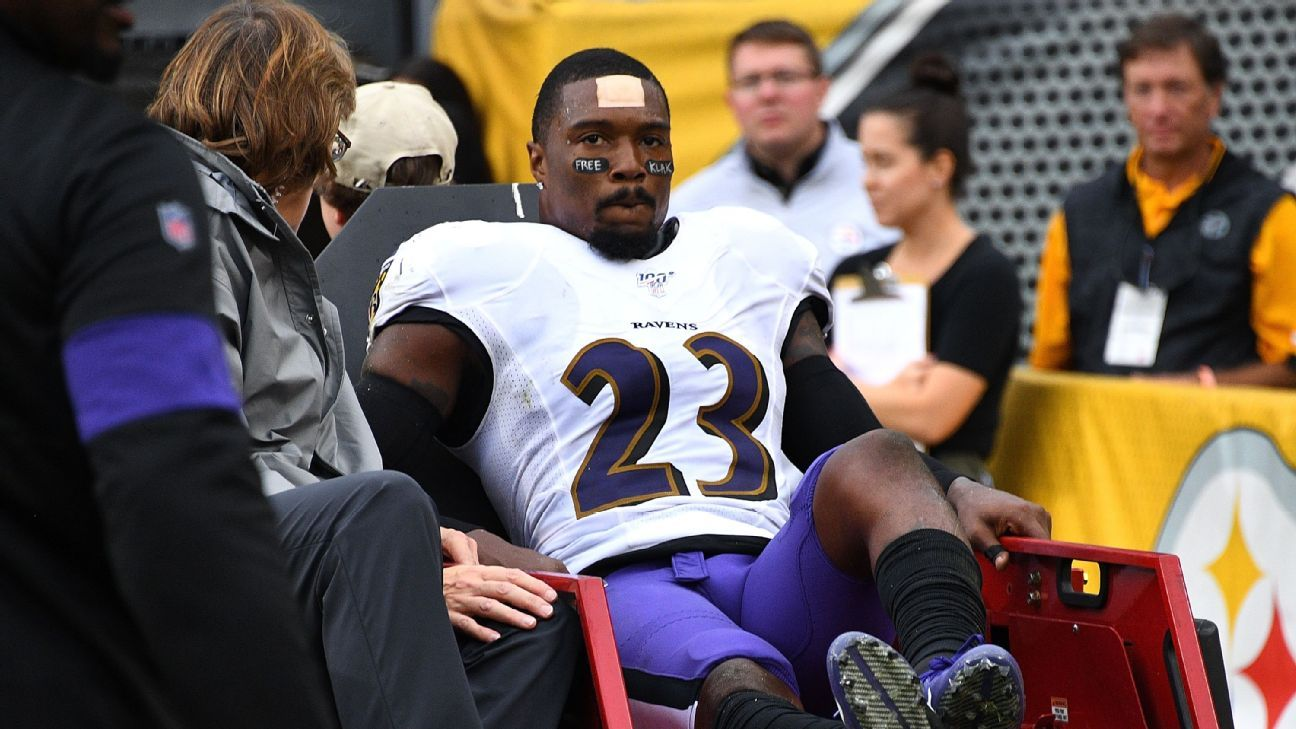 Ravens cut ties with Jefferson; Hurst suspended